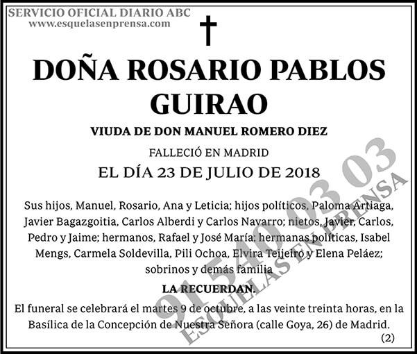 Rosario Pablos Guirao